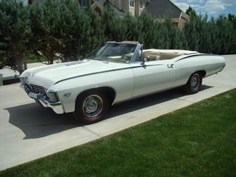1967 SS427 Impala