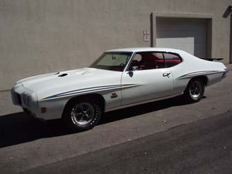 1970 GTO Judge RA3 Speed