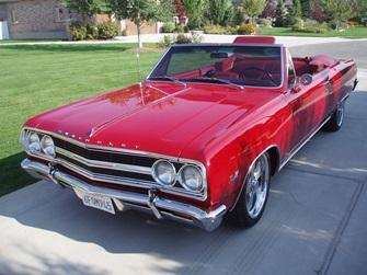 1965 Malibu Convertible 396